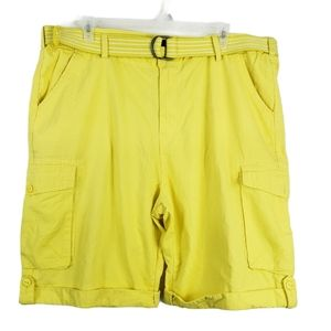 Rocawear Florescent Yellow No Rip Mens Shorts